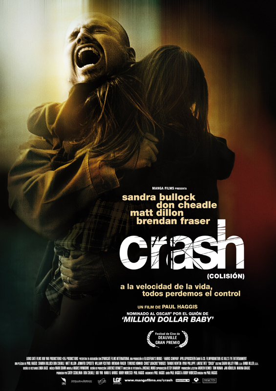 Póster Crash (Colisión)